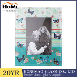Digital Print 5x7 Glass Photo Frames , Beautiful Glass Picture Photo Frame