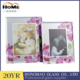 Sizes 180*230*15MM Beautiful Family Photo Frames , Small Glass Photo Frame