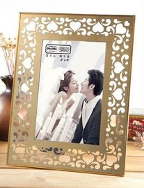 Durable Brass And Glass Picture Frame Compliment Any Decor 180*230*15MM Size